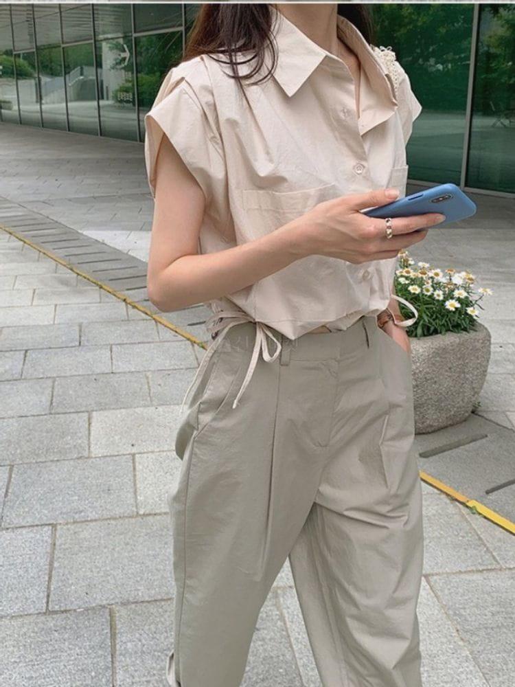 EVERYTHING WITH ME - Korean Children Fashion - #Kfashion4kids - Unicrop Shirt - 4