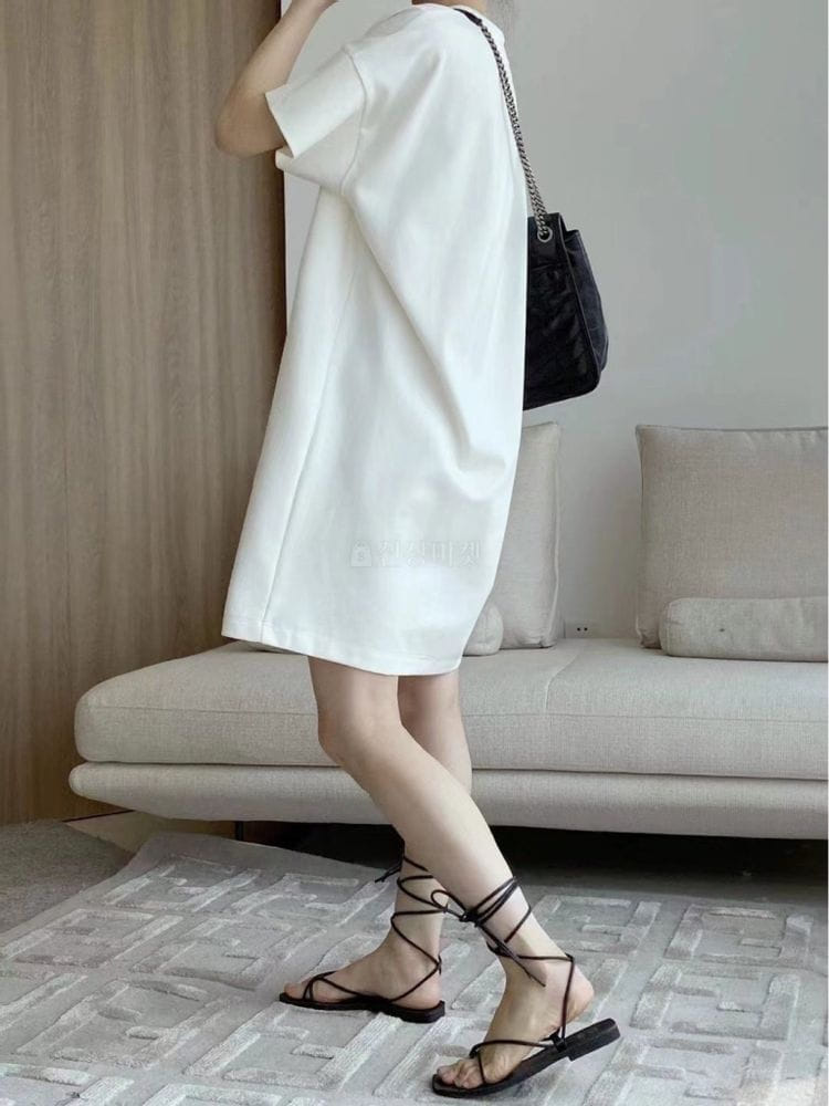 EVERYTHING WITH ME - Korean Children Fashion - #Kfashion4kids - Simple long dress