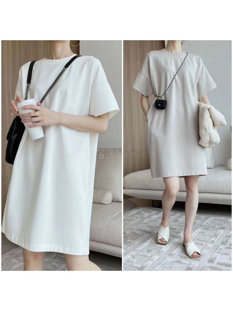 EVERYTHING WITH ME - Korean Children Fashion - #Kfashion4kids - Simple long dress - 3