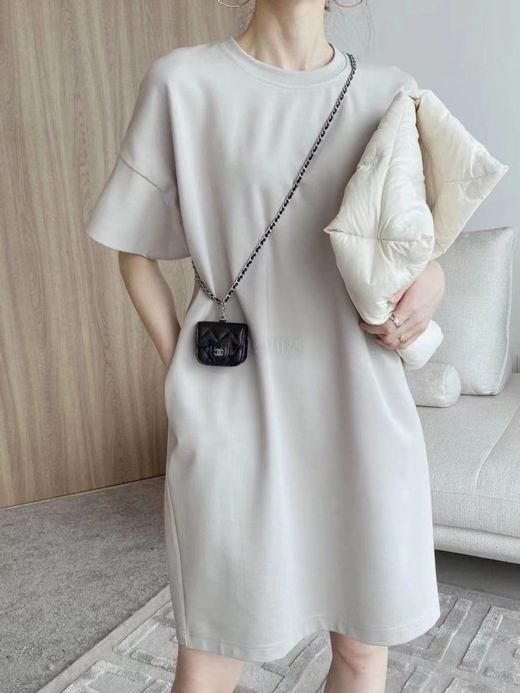 EVERYTHING WITH ME - Korean Children Fashion - #Kfashion4kids - Simple long dress - 4