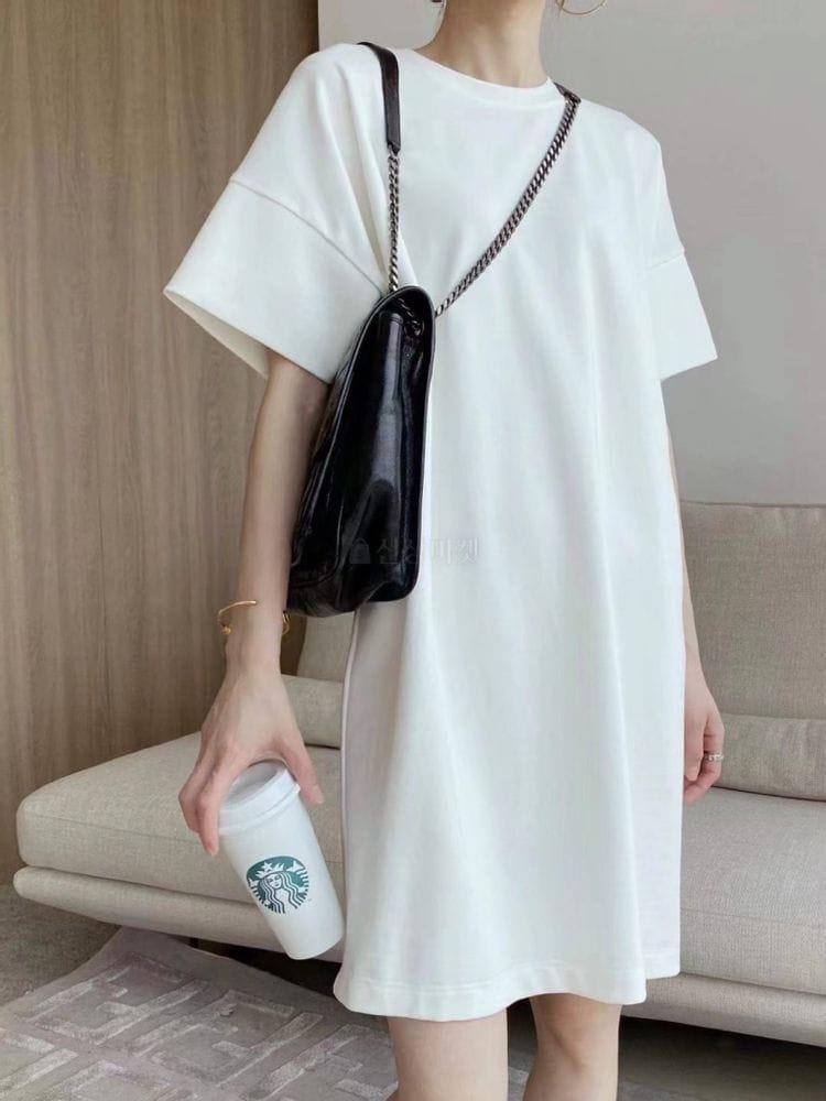EVERYTHING WITH ME - BRAND - Korean Children Fashion - #Kfashion4kids - Simple long dress