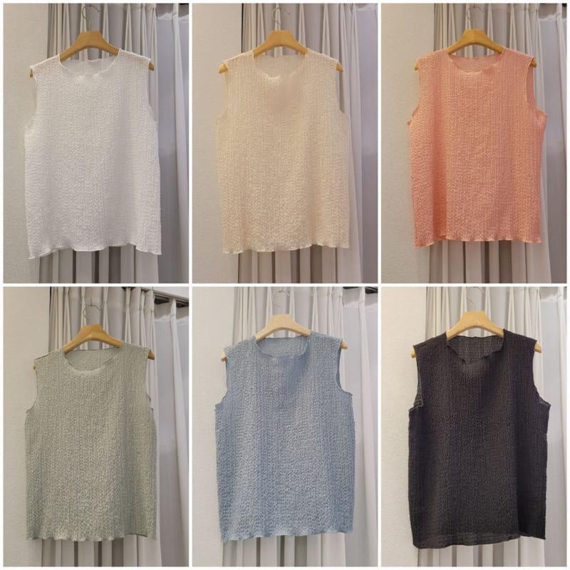 EVERYTHING WITH ME - Korean Children Fashion - #Kfashion4kids - A Soft Sleeveless Shirt - 3