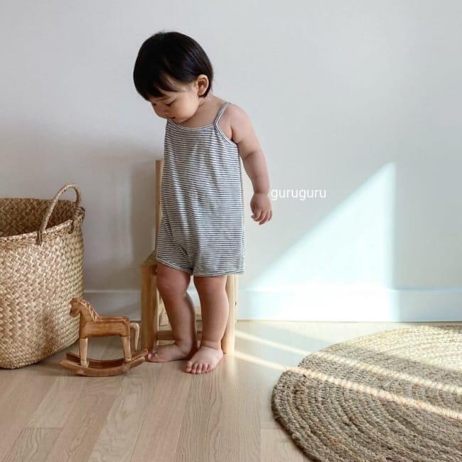 GURU GURU - Korean Children Fashion - #Kfashion4kids - Camisole Bodysuit - 2