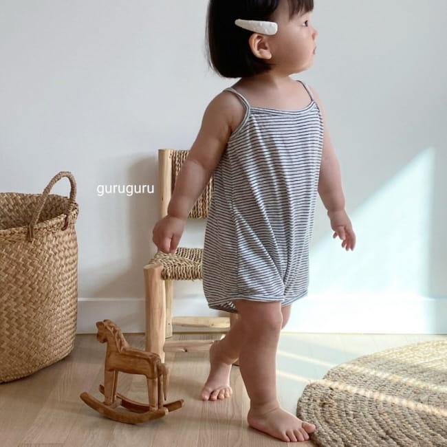 GURU GURU - Korean Children Fashion - #Kfashion4kids - Camisole Bodysuit - 3