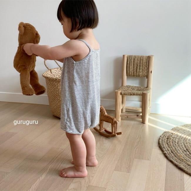 GURU GURU - Korean Children Fashion - #Kfashion4kids - Camisole Bodysuit - 4