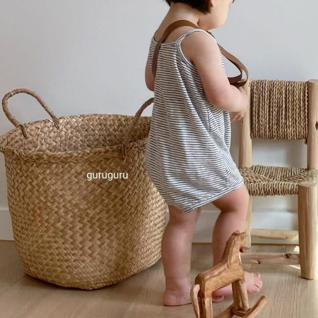 GURU GURU - Korean Children Fashion - #Kfashion4kids - Camisole Bodysuit - 5