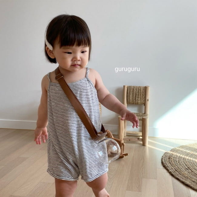 GURU GURU - Korean Children Fashion - #Kfashion4kids - Camisole Bodysuit - 6