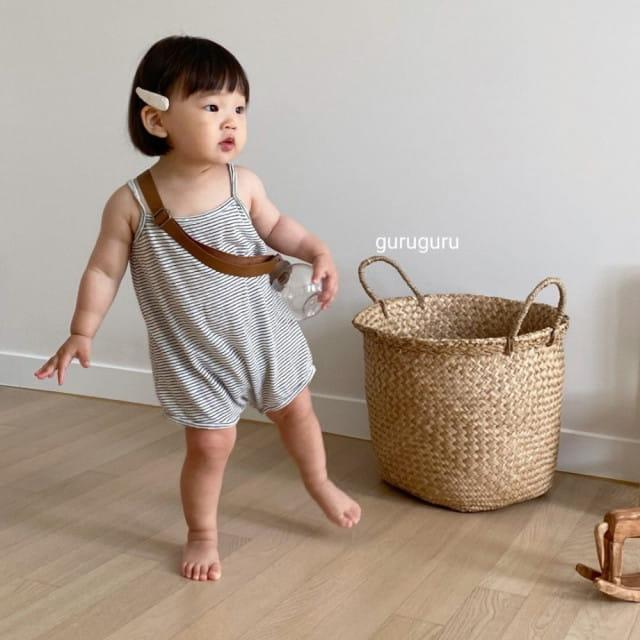 GURU GURU - BRAND - Korean Children Fashion - #Kfashion4kids - Camisole Bodysuit