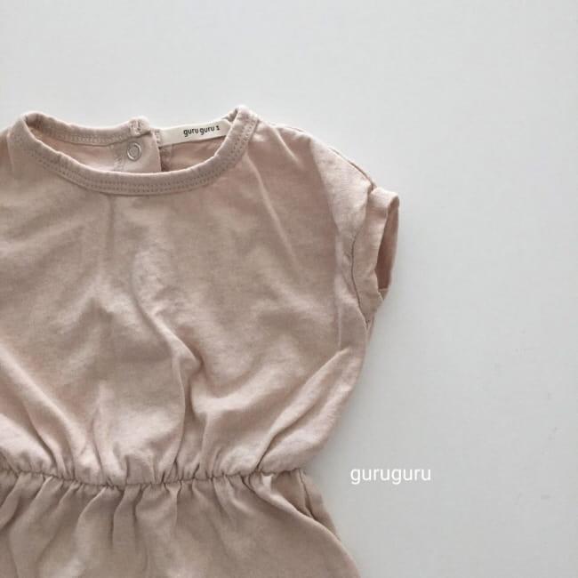 GURU GURU - Korean Children Fashion - #Kfashion4kids - Plain Bodysuit - 5