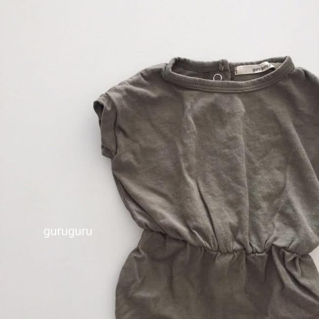 GURU GURU - Korean Children Fashion - #Kfashion4kids - Plain Bodysuit - 8