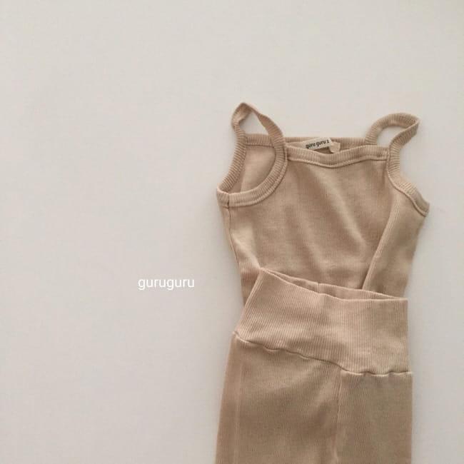 GURU GURU - Korean Children Fashion - #Kfashion4kids - String Sleeveless Easywear - 2