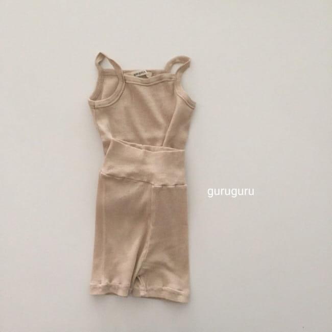 GURU GURU - Korean Children Fashion - #Kfashion4kids - String Sleeveless Easywear - 3