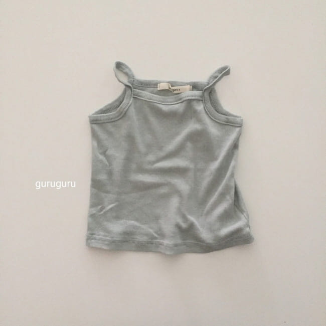 GURU GURU - Korean Children Fashion - #Kfashion4kids - String Sleeveless Easywear - 7