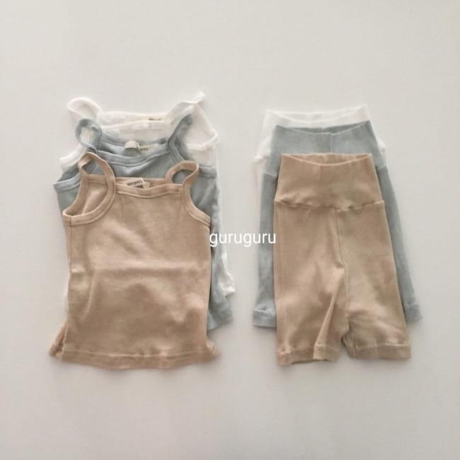 GURU GURU - Korean Children Fashion - #Kfashion4kids - String Sleeveless Easywear - 9