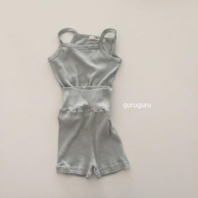 GURU GURU - BRAND - Korean Children Fashion - #Kfashion4kids - String Sleeveless Easywear
