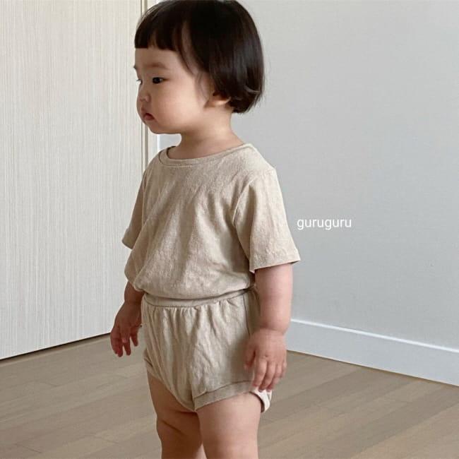 GURU GURU - Korean Children Fashion - #Kfashion4kids - Duck Top Bottom Set - 10