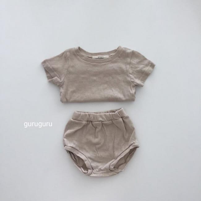 GURU GURU - Korean Children Fashion - #Kfashion4kids - Duck Top Bottom Set - 12