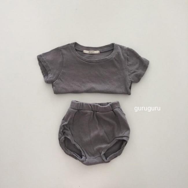 GURU GURU - Korean Children Fashion - #Kfashion4kids - Duck Top Bottom Set - 3