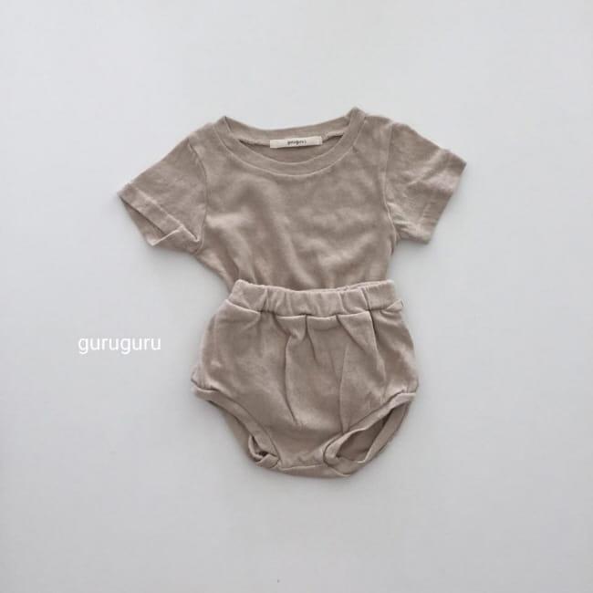 GURU GURU - Korean Children Fashion - #Kfashion4kids - Duck Top Bottom Set - 5
