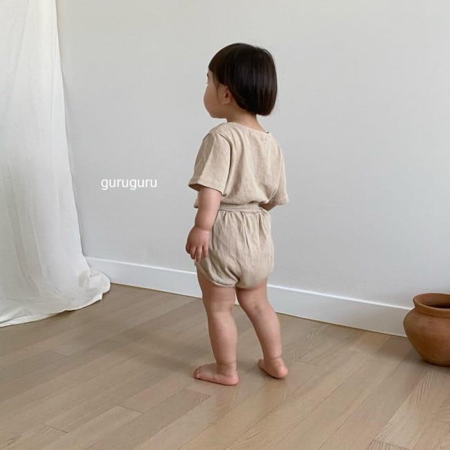 GURU GURU - Korean Children Fashion - #Kfashion4kids - Duck Top Bottom Set - 8