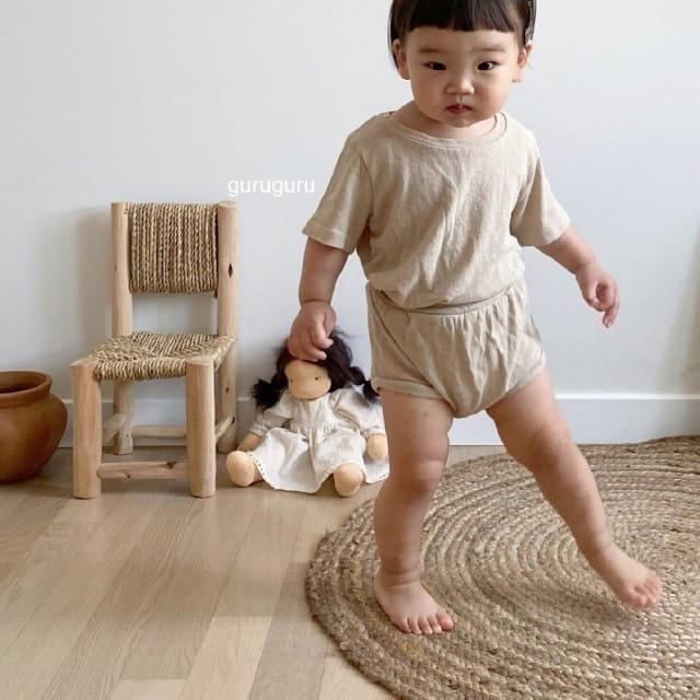 GURU GURU - BRAND - Korean Children Fashion - #Kfashion4kids - Duck Top Bottom Set