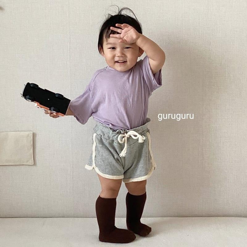 GURU GURU - Korean Children Fashion - #Kfashion4kids - Tery Shorts - 2