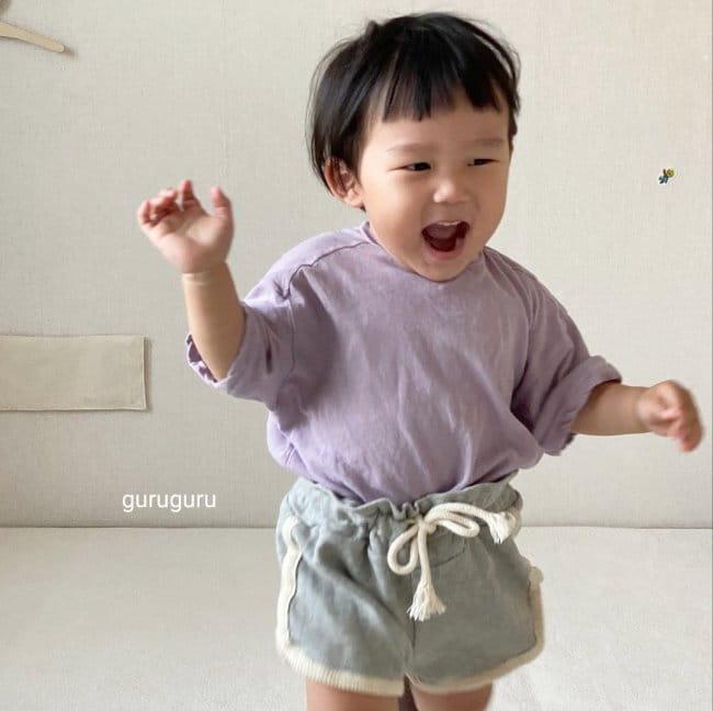 GURU GURU - Korean Children Fashion - #Kfashion4kids - Tery Shorts - 4