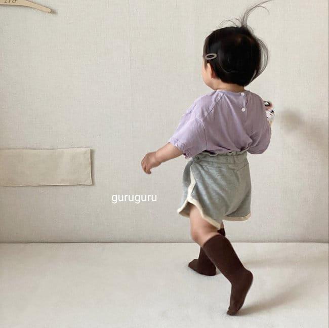 GURU GURU - Korean Children Fashion - #Kfashion4kids - Tery Shorts - 6