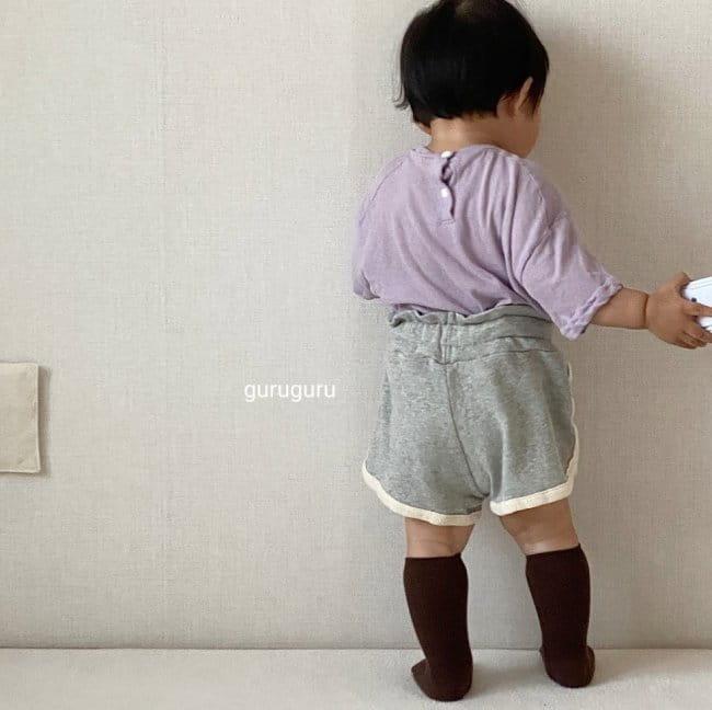 GURU GURU - Korean Children Fashion - #Kfashion4kids - Tery Shorts - 8