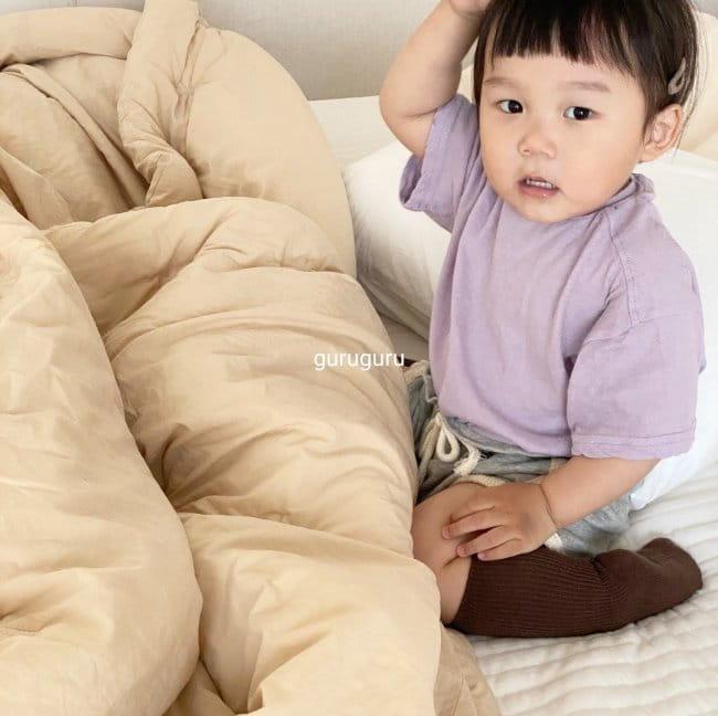 GURU GURU - Korean Children Fashion - #Kfashion4kids - Slit Button Tee - 7
