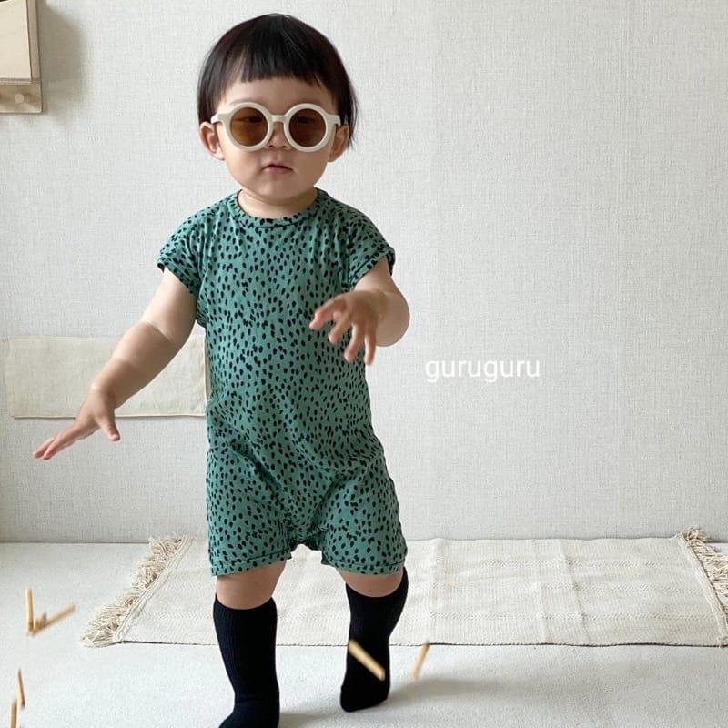 GURU GURU - Korean Children Fashion - #Kfashion4kids - Dots Bodysuit