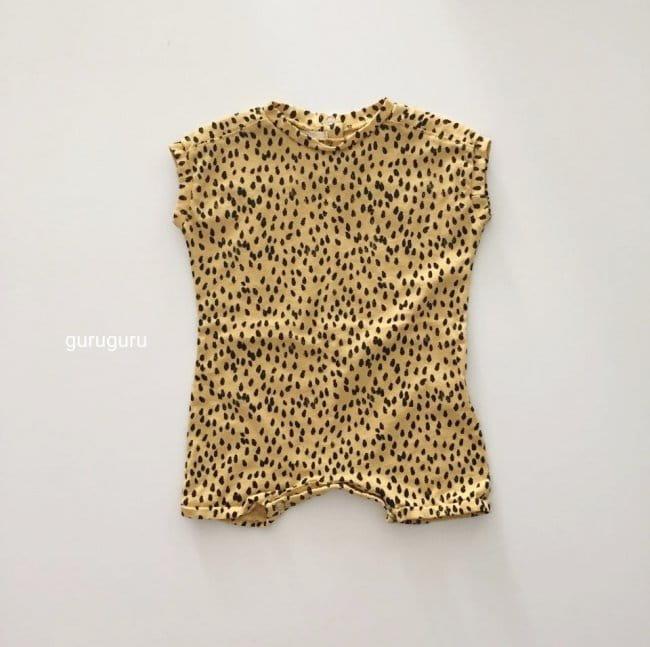 GURU GURU - Korean Children Fashion - #Kfashion4kids - Dots Bodysuit - 10