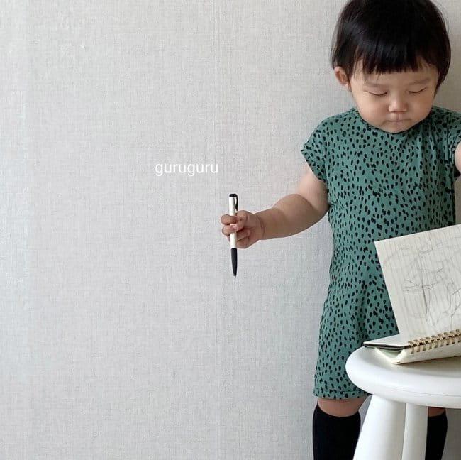 GURU GURU - Korean Children Fashion - #Kfashion4kids - Dots Bodysuit - 3