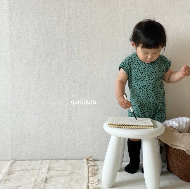 GURU GURU - Korean Children Fashion - #Kfashion4kids - Dots Bodysuit - 4