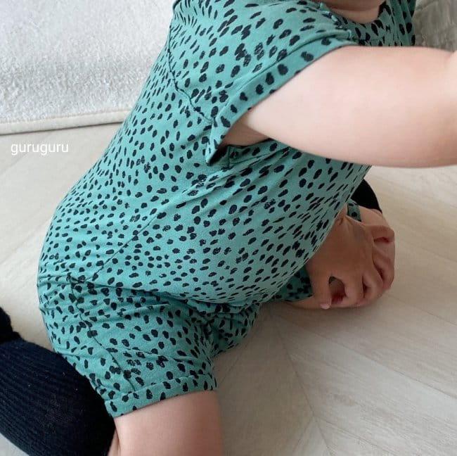 GURU GURU - Korean Children Fashion - #Kfashion4kids - Dots Bodysuit - 5