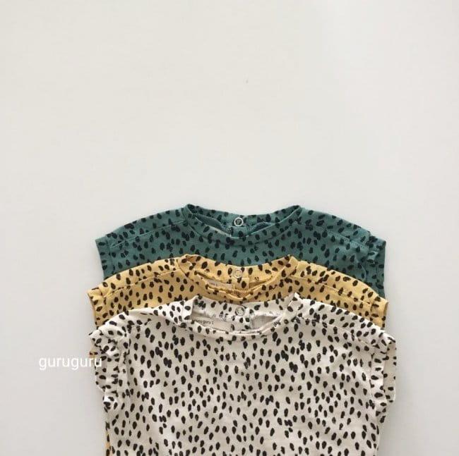 GURU GURU - Korean Children Fashion - #Kfashion4kids - Dots Bodysuit - 7