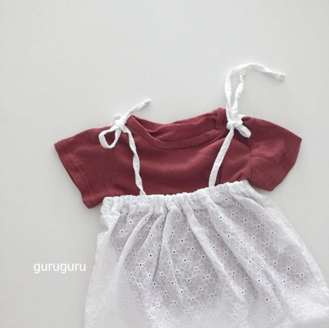 GURU GURU - Korean Children Fashion - #Kfashion4kids - Snow Flower Bodysuit - 9