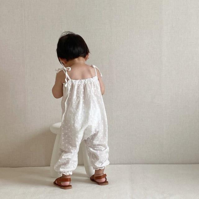 GURU GURU - BRAND - Korean Children Fashion - #Kfashion4kids - Snow Flower Bodysuit