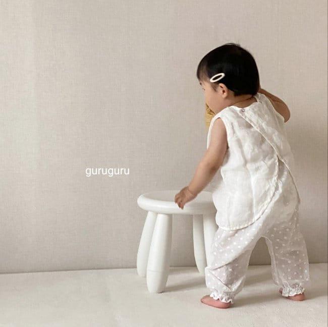 GURU GURU - Korean Children Fashion - #Kfashion4kids - Butterfly Sleeveless - 3
