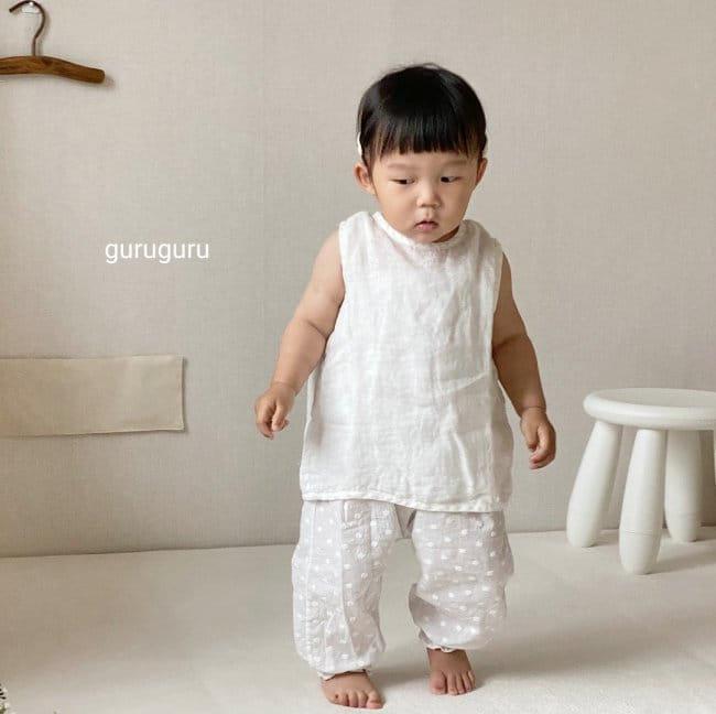 GURU GURU - Korean Children Fashion - #Kfashion4kids - Butterfly Sleeveless - 4