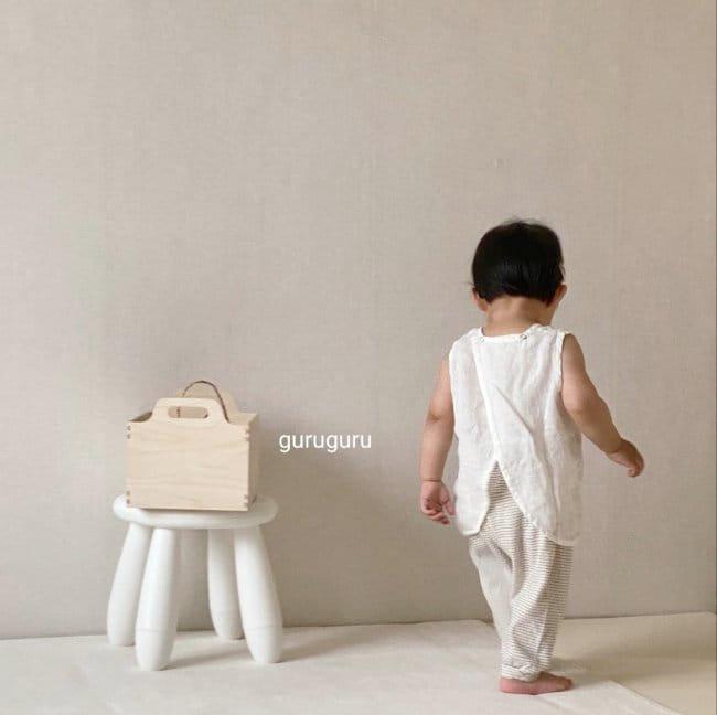 GURU GURU - Korean Children Fashion - #Kfashion4kids - Butterfly Sleeveless - 7