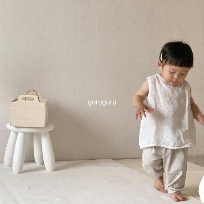 GURU GURU - Korean Children Fashion - #Kfashion4kids - Butterfly Sleeveless - 8