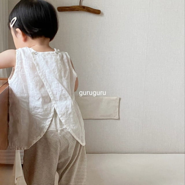 GURU GURU - BRAND - Korean Children Fashion - #Kfashion4kids - Butterfly Sleeveless