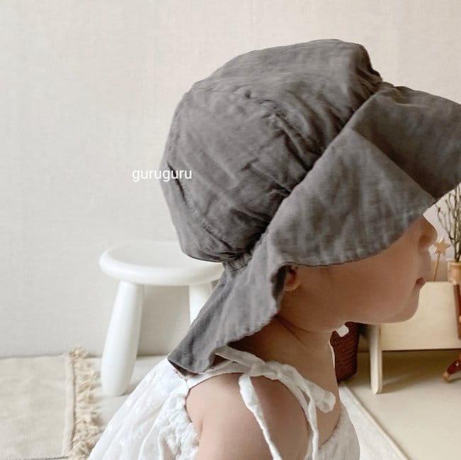 GURU GURU - Korean Children Fashion - #Kfashion4kids - Linen Bucket Hat - 2