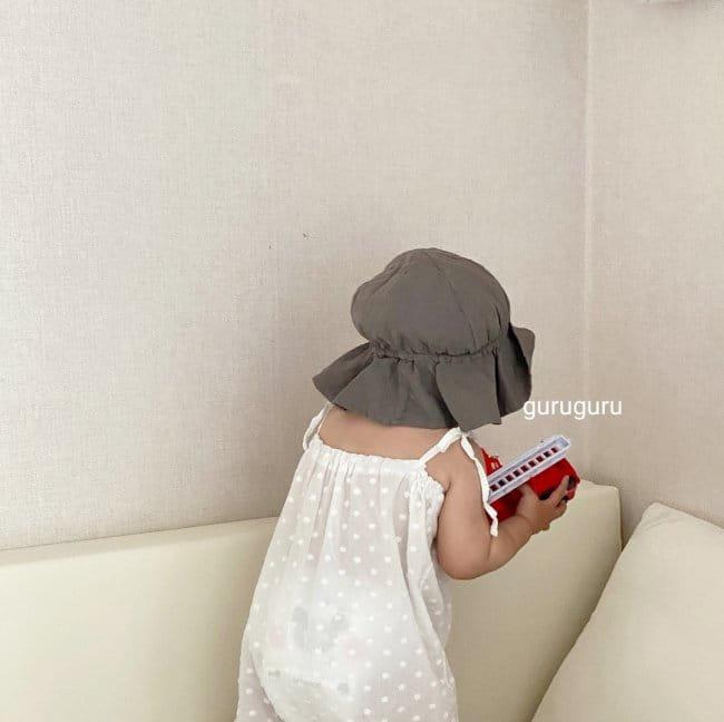 GURU GURU - Korean Children Fashion - #Kfashion4kids - Linen Bucket Hat - 3