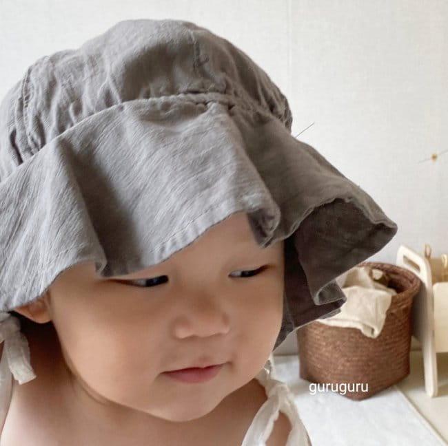GURU GURU - Korean Children Fashion - #Kfashion4kids - Linen Bucket Hat - 4