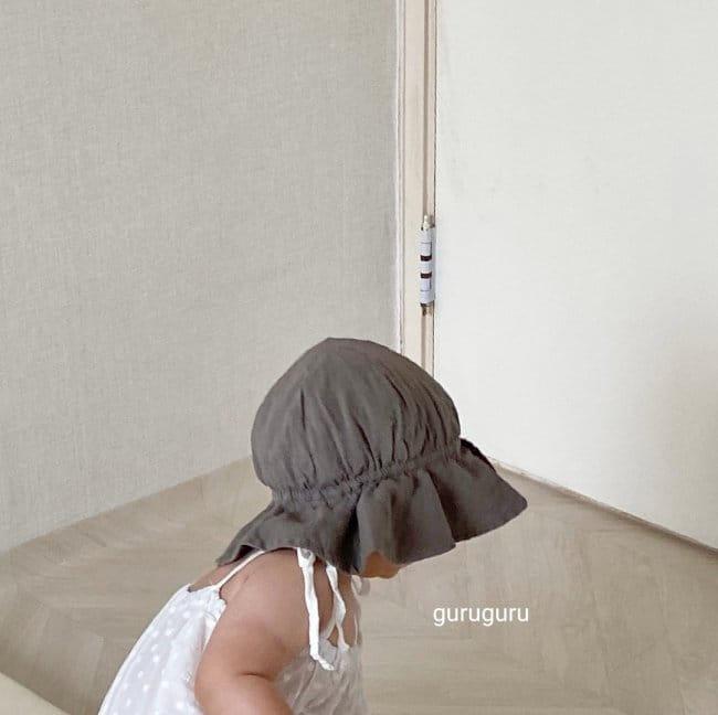 GURU GURU - Korean Children Fashion - #Kfashion4kids - Linen Bucket Hat - 6