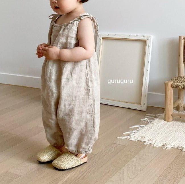 GURU GURU - Korean Children Fashion - #Kfashion4kids - Linen String Bodysuit - 10