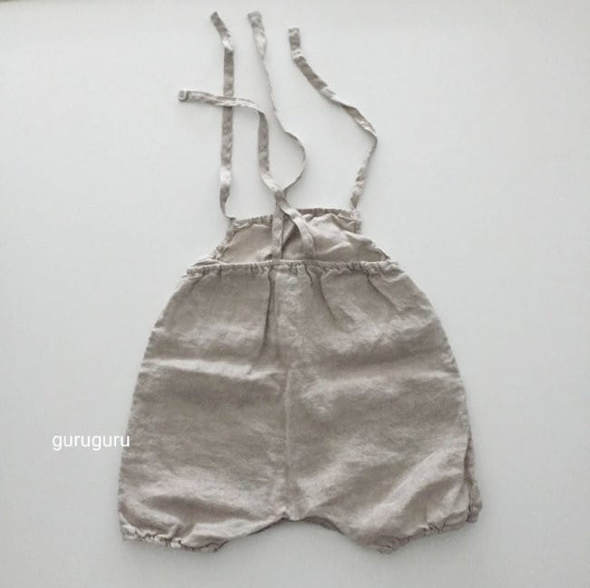 GURU GURU - Korean Children Fashion - #Kfashion4kids - Linen String Bodysuit - 5