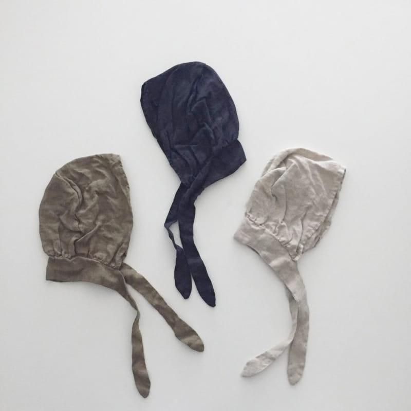 GURU GURU - Korean Children Fashion - #Kfashion4kids - Linen Bonnet